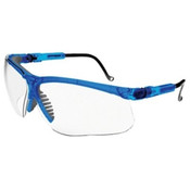 Uvex By Honeywell Genesis Eyewear, Clear Polycarbonate Lenses, Blue-vapor Frame