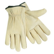 Memphis Glove Drivers Gloves, Select Grade Cowhide, Large, Unlined, PER DOZEN