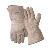 HEAT RESISTANT GAUNTLETTERRY GLOVE  LINED, PER DOZEN
