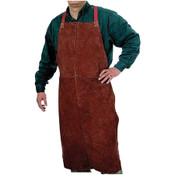 "ANCHOR BRAND 24"" X 42"" LEATHER BIB APRON"