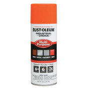 830 FLUORESCENT ORANGE PAINT 12OZ. FILL WT./PER CAN