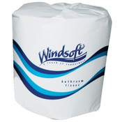 Windsoft T/t White Facial 2-ply/PER CASE OF 96 ROLLS