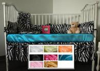 Shown: Turquoise Crib Sheet