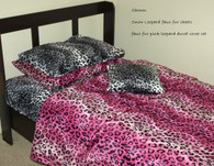 Faux Fur Animal Print bottom Sheet : available in various prints such as zebra, leopard, cow, giraffe, etc.
