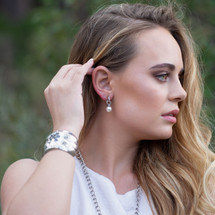 First Impression Pretty Woman Earring Charms (E1004)