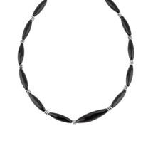 Little Black Number Necklace (N1879)
