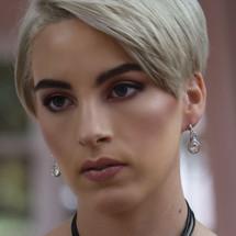 Princess Pretty Woman Hoop Earrings (E2238)