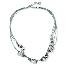 Teal Eco -Glam Necklace (N2003)-R699