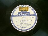GAROTO Arg ODEON 196415 BRAZIL 78rpm MANDOLINA/CAVAQUINHO