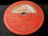 EUGENE ORMANDY Gramophone 4x78 Set BEETHOVEN Symp#1