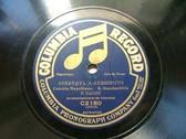 DADDI & DE MATIENZO Columbia C2150 NEAPOLITAN 78 SERENATA A SURRIENTO