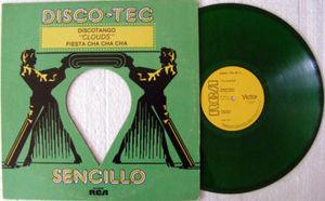 CLOUDS Discotango Rare MEXICAN Maxi GREEN Vinyl 1979
