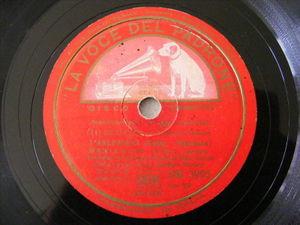 BENIAMINO GIGLI Lvdp 3905 OPERA 78 L'ARLESIANA / CAVALLERIA