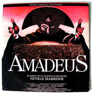 AMADEUS Ost NEVILLE MARRINER Fantasy 7026 ARGENTINA 2xLP 1985