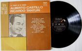 ALBERTO CASTILLO & TANTURI El Tango Es El tango RCA 4586 Argentina TANGO LP 1978