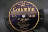 "12"" BING CROSBY & ELLINGTON Orch Columbia 898 JAZZ 78 ST LOUIS BLUES / CREOLE LO"