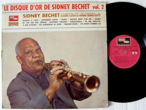 SIDNEY BECHET Le Disque D'or VOGUE 9597 FRANCE LP