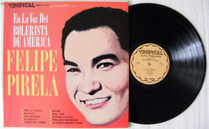 FELIPE PIRELA & BILLO Lo Mejor De TROPICAL 5192 Usa LP NM