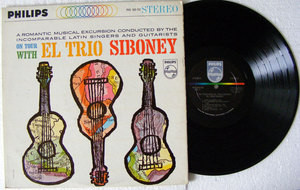 EL TRIO SIBONEY On Tour PHILIPS 600-032 USA PROMO LP
