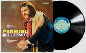 JOSE LARRALDE Permiso CAMDEN 3139 ARGENTINE FOLK LP