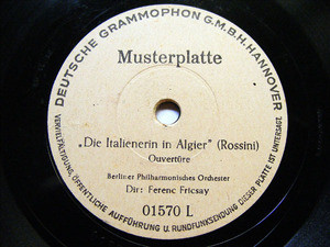 FERENC FRICSAY Test Pressing 01570 RARE 78rpm STRAUSS