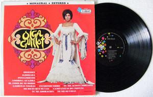 OLGA GUILLOT Trebol 10122 Rare MEXICAN LP 1970 EX