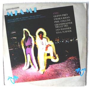 MIAMI VICE Ost MCA 83964 ARGENTINE LP DON JOHNSON
