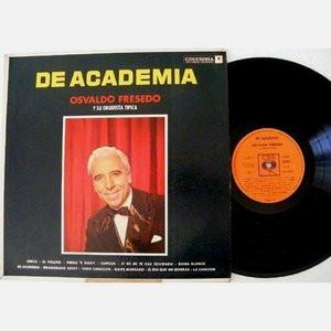 OSVALDO FRESEDO De Academia COLUMBIA 8318 TANGO Mono LP