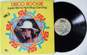 DISCO BOOGIE Vol 2 Salsoul 80007 Argentina LP 1978