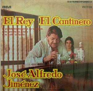 JOSE ALFREDO JIMENEZ El Cantinero VICTOR Argentina LP Ranchera