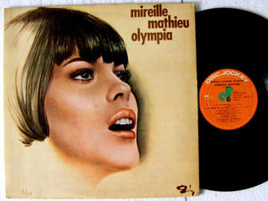 MIREILLE MATHIEU Olympia DISC JOCKEY 14003 Argentina PRESS Rare LP