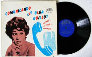 OLGA GUILLOT Comunicando Con Olga Guillot PUCHITO 559 LP