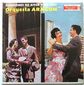 ORQUESTA ARAGON Danzones De Ayer De Hoy Vol.2 DISCUBA LPD-532 CHARANGA LP