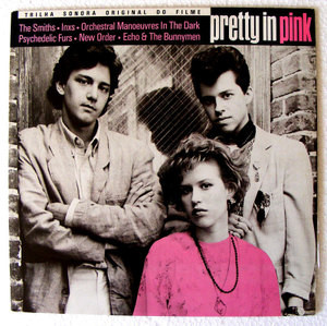 PRETTY IN PINK A&M 170103 SOUNDTRACK BRAZILIAN LP 1986 NM