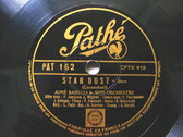 "12"" AIME BARELLI Pathe 162 JAZZ 78 CARAVAN / STAR DUST"