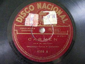 CANARO Nacional 4516 TANGO 78 CARMEN/VARONCITO