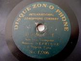 "7"" DEPRIMOZ Zonophone 12206/196 TRUMPET/CORNET 78rpm"