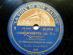 NICOLAI MALKO lvdsm 8004 3x78 Set TCHAIKOWSKI Casse-Noisette
