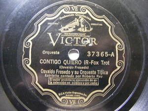 OSVALDO FRESEDO Victor 37365 TANGO 78 CONTIGO QUIERO IR / COLIBRIYO