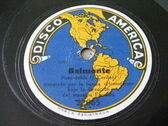 MAESTRO ESNAOLA & HOMOPHON Orq DISCO AMERICA 22065 78rpm BELMONTE / JOSELITO