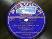 BRAILOWSKY / REHBERG Polydor 95203 PIANO 78 SONETTO DEL PETRARCA
