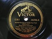 """12"""" FATS WALLER Victor 36206 JAZZ 78 HONEYSUCKLE ROSE"""