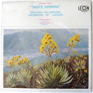 FRANK BARBER & NAT PHIL ORCH LONDON Venezuela Suite RARE LP
