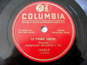 PASQUALE SCIASCIA Col 14455 ABRUZZESE 78 RUSINA ALLA CAMPAGNA/LU PRIMO AMORE