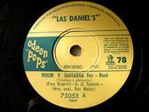 LAS DANIEL'S Odeon Pops RARE ROCK 78 VIOLIN Y GUITARRA / LA DULCE VIDA