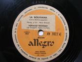 HORACIO GUARANY Allegro 7022 ARG FOLK 78 LA LITORENA / LA BOLIVIANA