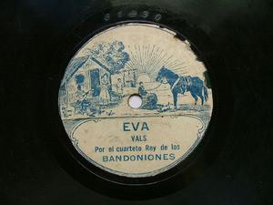 ORQ. LA GIRALDA Rare SCALA 61439 TANGO 78rpm EVA