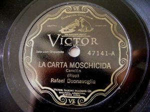 R.BUONAVOGLIA Victor 47141 TANGO 78 CHAMUYANDO/LA CARTA