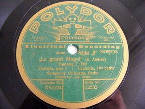 JOSEPH SNAGA Polydor 22533 78 LE GRAND MOGOL Fantasi NM