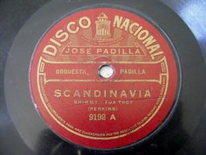 JOSE PADILLA Nacional 9192 TANGO 78 Scandinavia/Ilo